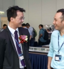 HKICBIM Committee Member Sr. Li Ho Fai Clayton and Mr. Chung from AECOM