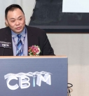 Founding President Sr. Michael Wong addressed the audience at the opening of the establishment ceremony of HKICBIM.